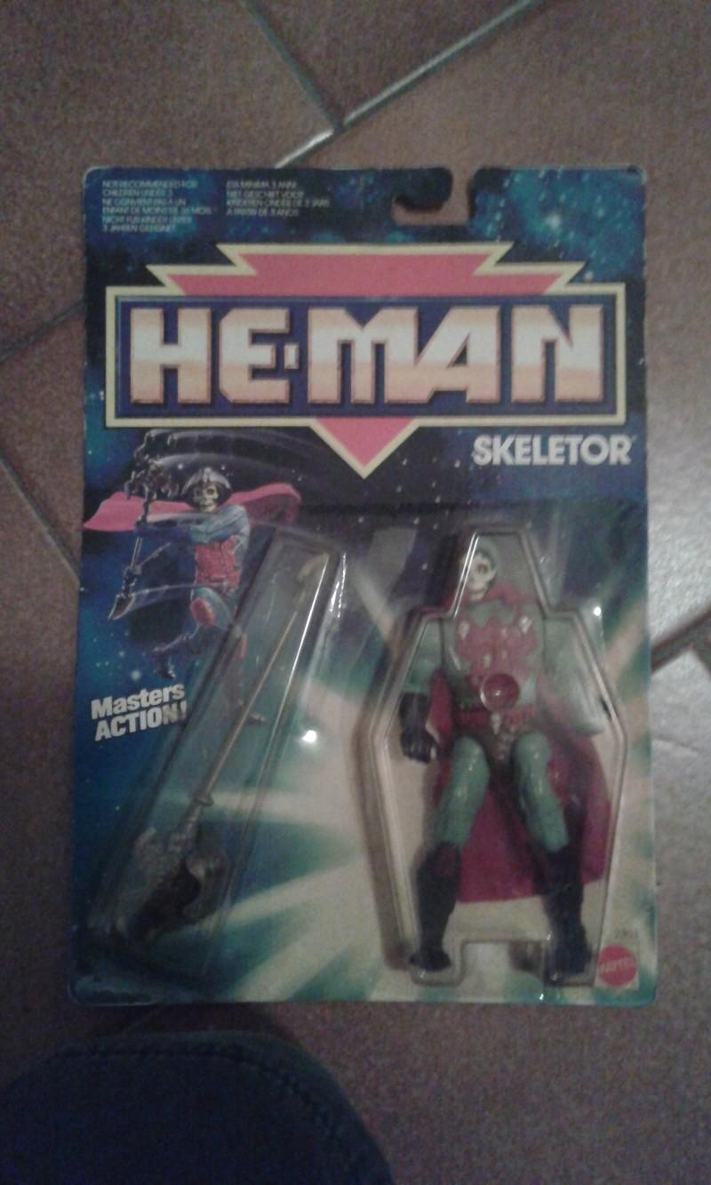Skeletor HE-MAN 1988 Made in Malaysia Mattel 20150222