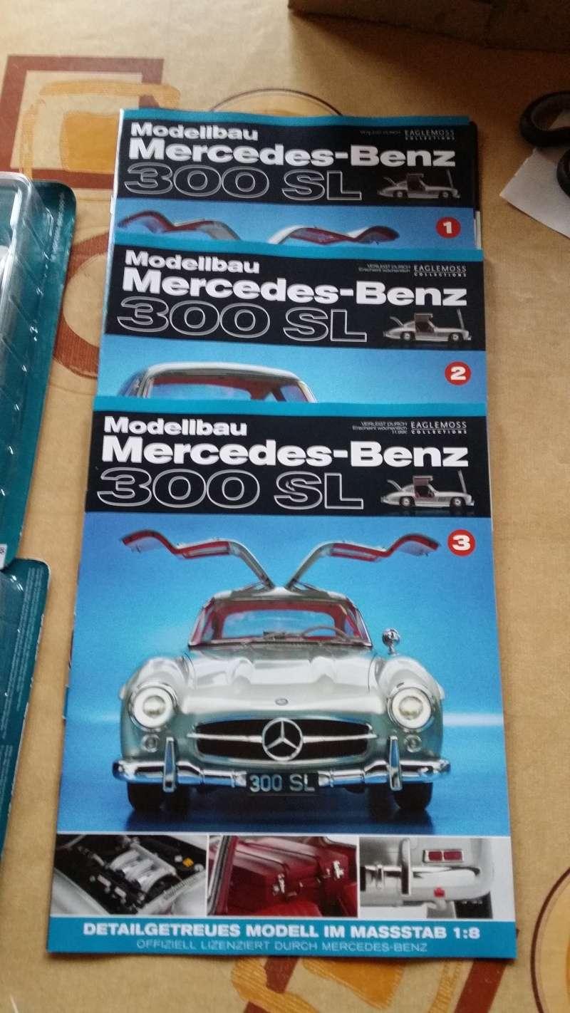 Mercedes Benz 300 SL von Eaglemoss 1:8 20150110