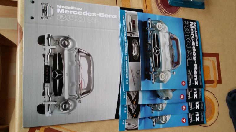 Mercedes Benz 300 SL von Eaglemoss 1:8 20150215