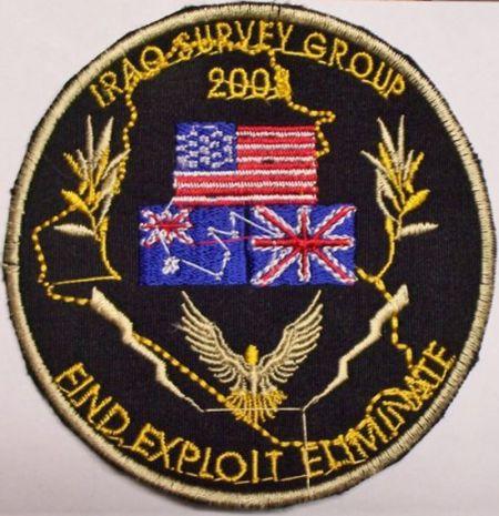 Iraq Survey Group Arm Patch 2003_i10