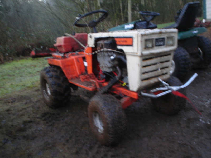 My montgomery ward off-road tractor. Peter_10