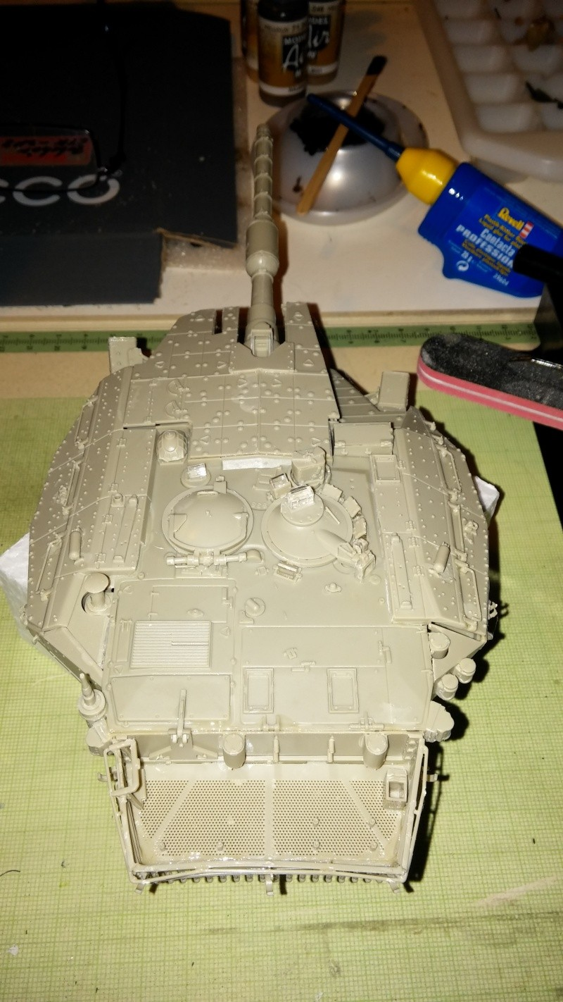 Baubericht Merkava Mk. 3D 20150131