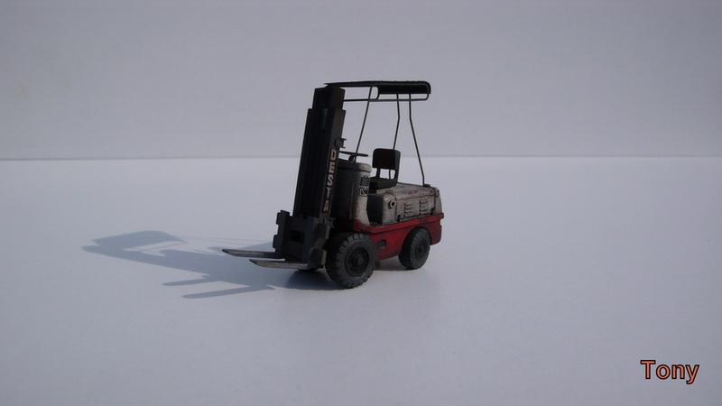 Fork-lift truck DESTA BVH 1521/1522 - Small Models P1390815