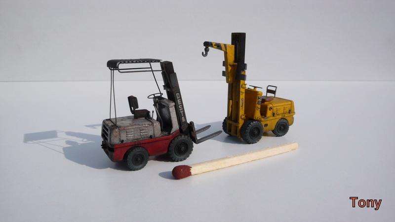 Fork-lift truck DESTA BVH 1521/1522 - Small Models P1390817