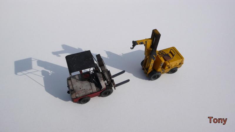 Fork-lift truck DESTA BVH 1521/1522 - Small Models P1390818