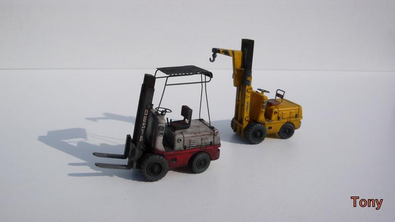 Fork-lift truck DESTA BVH 1521/1522 - Small Models P1390913