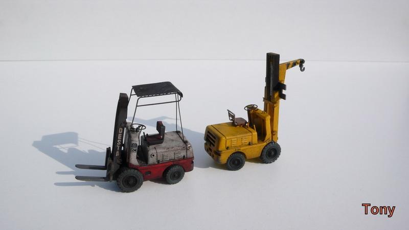 Fork-lift truck DESTA BVH 1521/1522 - Small Models P1390914