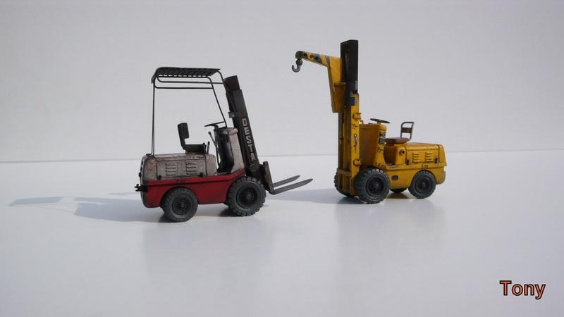 Fork-lift truck DESTA BVH 1521/1522 - Small Models P1390915