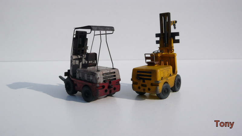 Fork-lift truck DESTA BVH 1521/1522 - Small Models P1390916