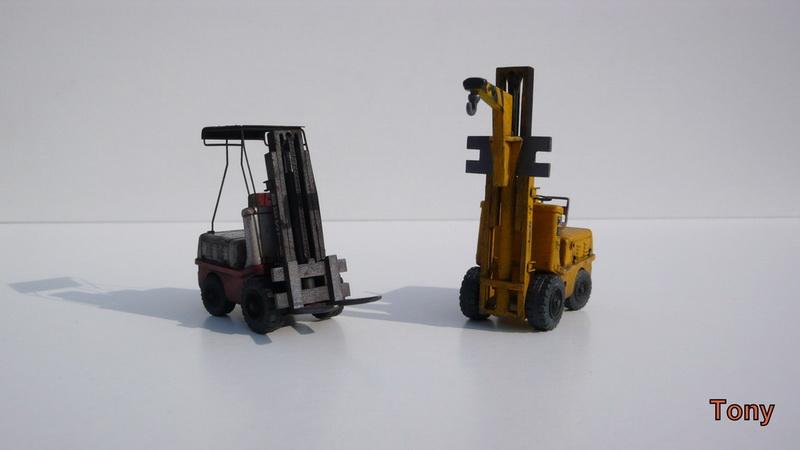 Fork-lift truck DESTA BVH 1521/1522 - Small Models P1390917