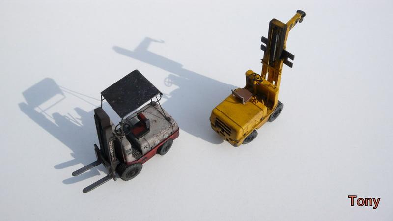 Fork-lift truck DESTA BVH 1521/1522 - Small Models P1390918