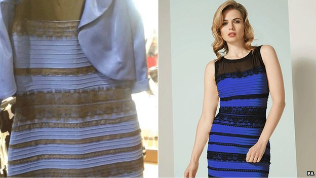 THE DRESS! Is it black and blue? Or is it white and gold? Test10