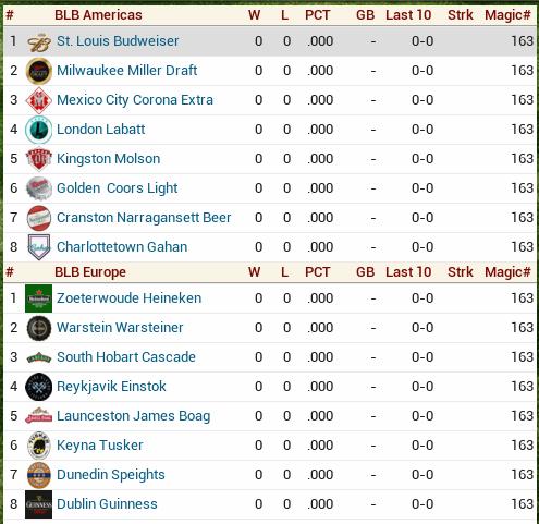 Beer League 1-1-0110
