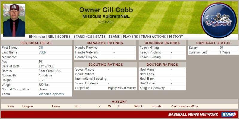 Owner History Cobb10