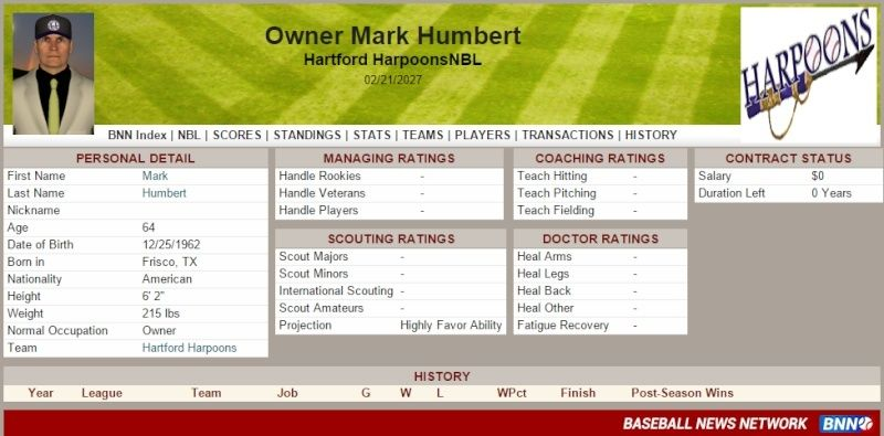 Owner History Humber10