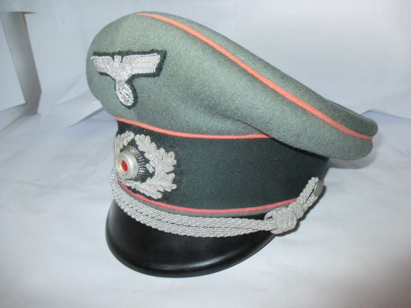 schirmmütze officier panzer de chez EREL 2014-119