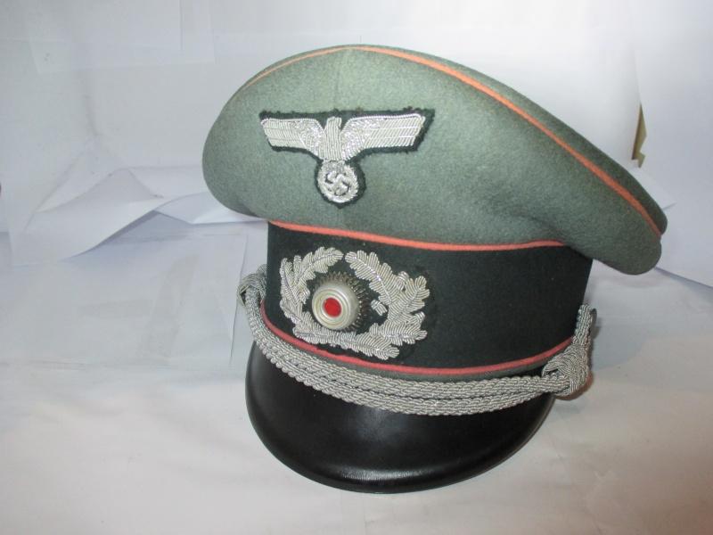 schirmmütze officier panzer de chez EREL 2014-120