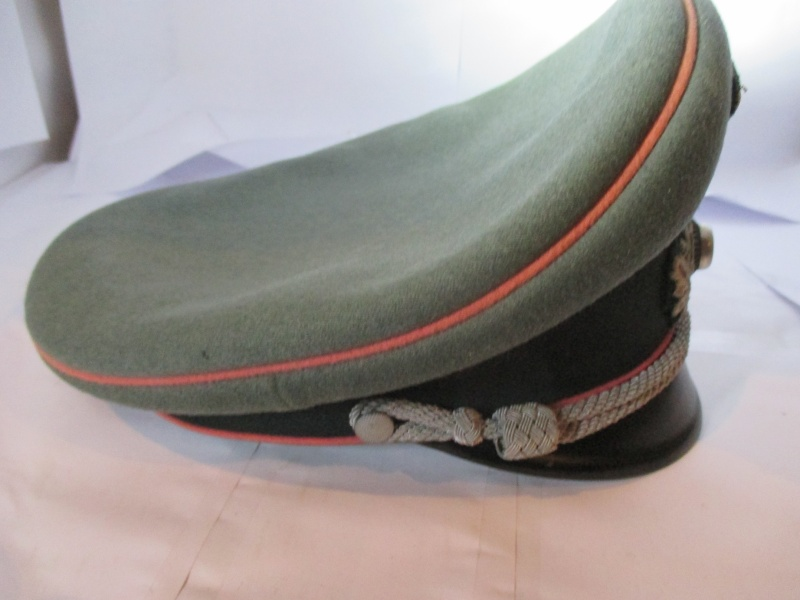 schirmmütze officier panzer de chez EREL 2014-122