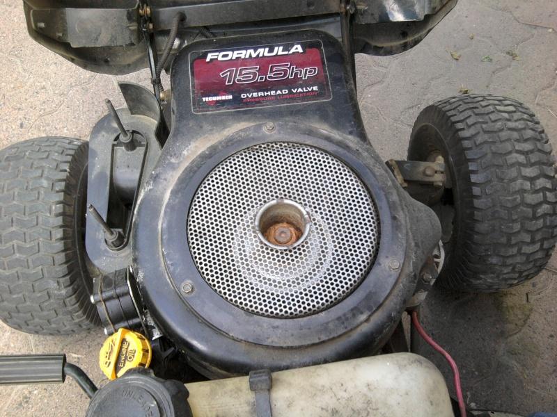 2005 MTD 15.5HP Tecumseh Romper - locked diff 2014-011