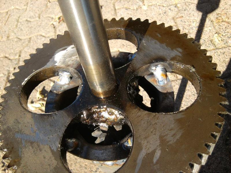 2005 MTD 15.5HP Tecumseh Romper - locked diff 2014-112