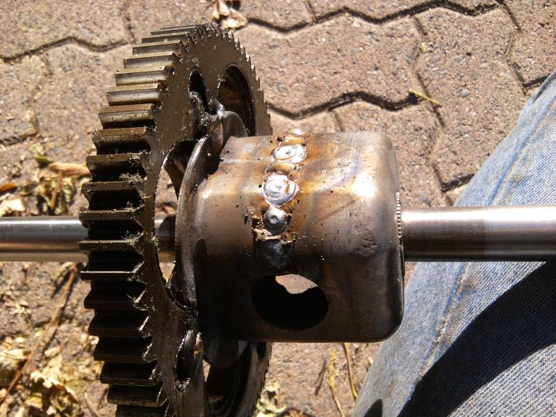 2005 MTD 15.5HP Tecumseh Romper - locked diff 2014-113