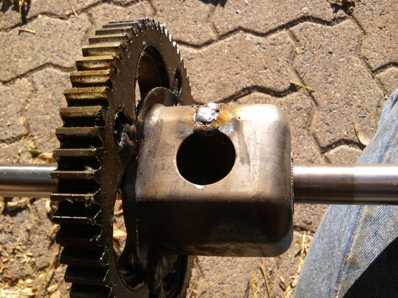 2005 MTD 15.5HP Tecumseh Romper - locked diff 2014-114