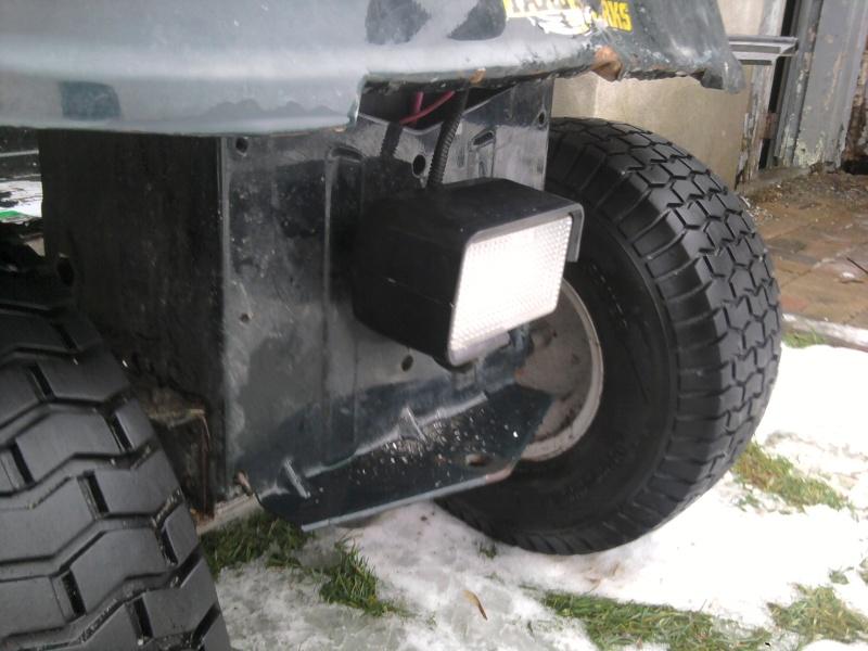 2005 MTD 15.5HP Tecumseh Romper - locked diff 2014-120