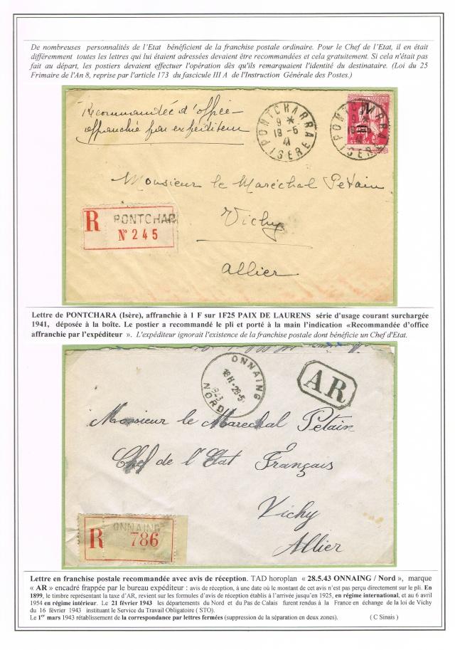 """Lettre adressée au maréchal pétain """"Président de la république"""" Ccf07010"""