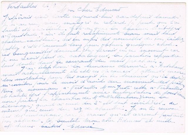 Timbre à date  «  VERSAILLES  CENTRAL  /  SEINE ET OISE  »  (1942) Ccf26011