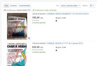Charlie Hebdo ebay Charli10