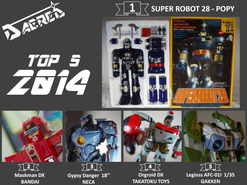 Le Top 5 de vos acquisitions en 2014 Daered10