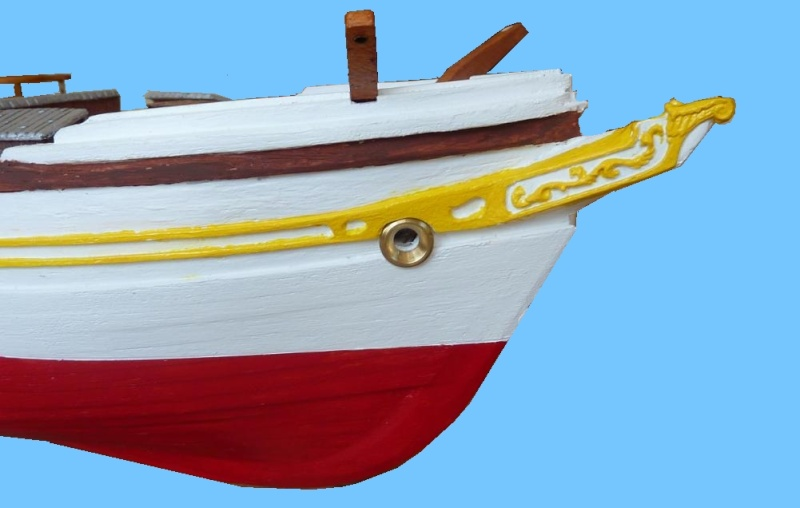 Le Pourquoi-Pas 1908 - Billing Boats - 1/75éme - Page 3 P1070915