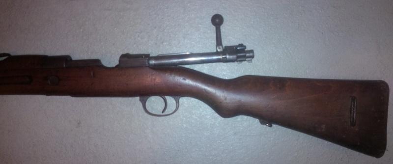 Fusil espagnol 1917, neutra allemande F310