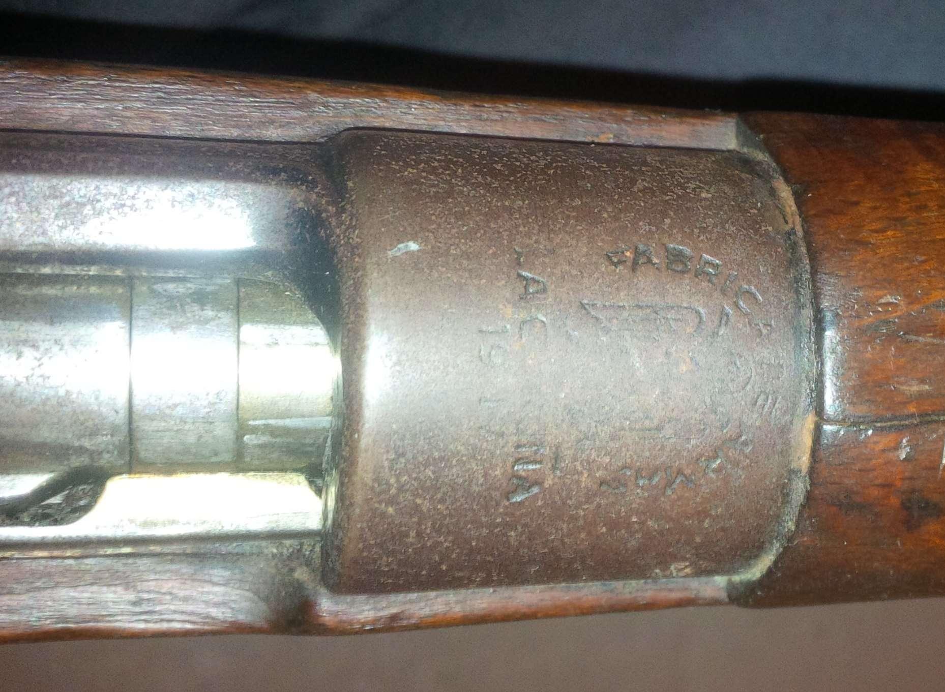 Fusil espagnol 1917, neutra allemande F610