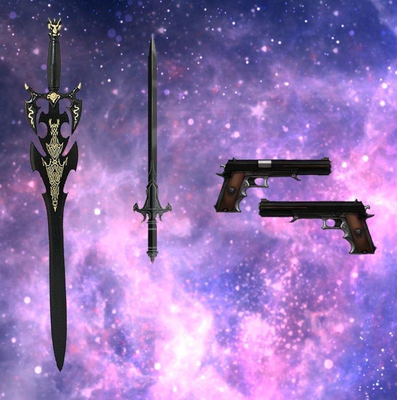 Aaron Igashi, Reequip-Magier Weapon11