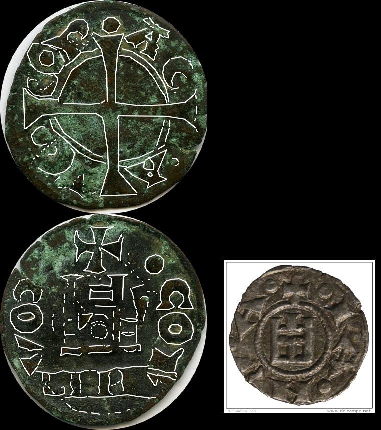 Obale de Geoffrey II de Villehardouin, Principauté d'Achaïe ... Manu5010