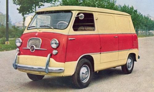 Fiat 600 M Coriasco     l'antesignano del 600 t  1010