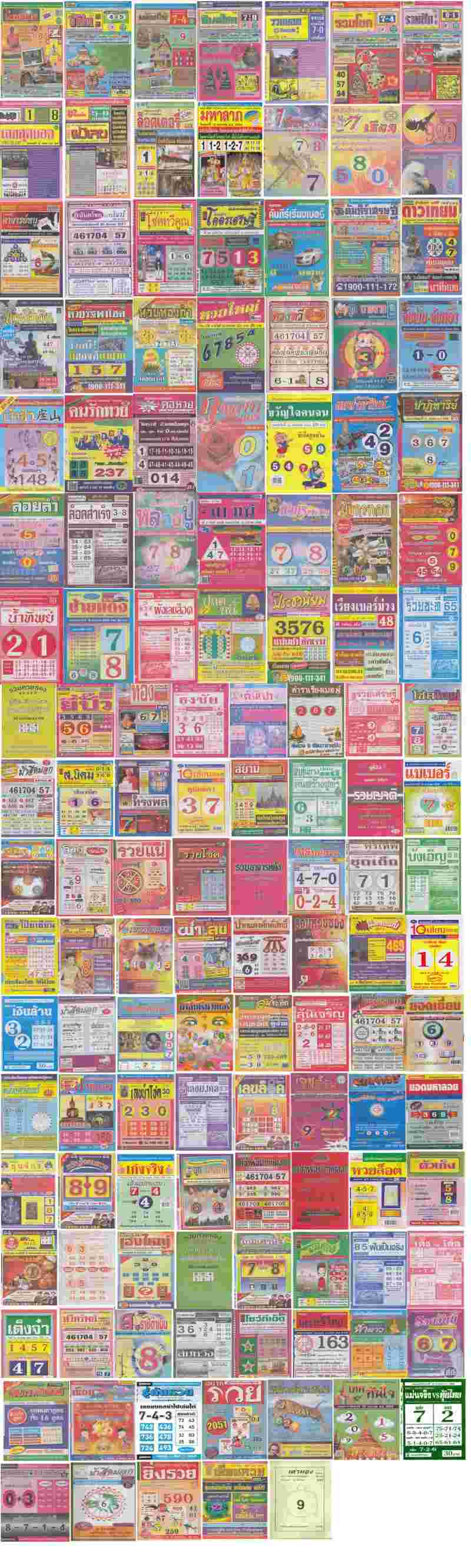 Thailand Lottery Megazine VIP Membership Deatils All10