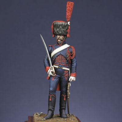 Trompette Artillerie a cheval de la Garde, 1807 Artigl10