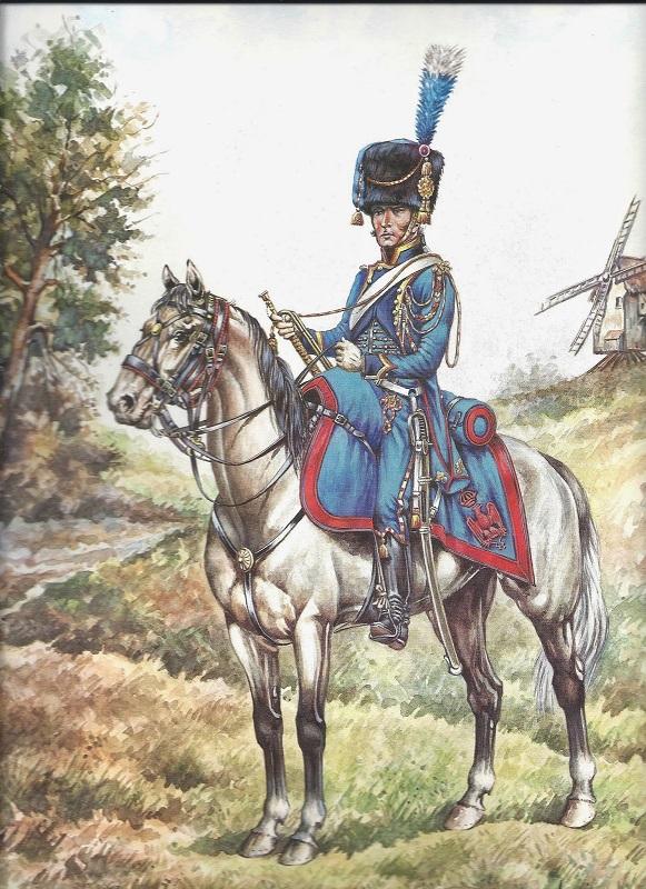 Trompette Artillerie a cheval de la Garde, 1807 Trompe10