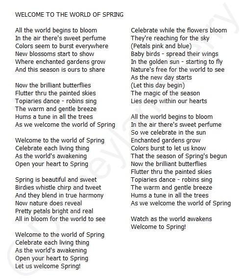 [Saison] Le Printemps Fait son Carnaval - Swing into Spring (du 1er mars au 31 mai 2015) - Page 15 Welcom10