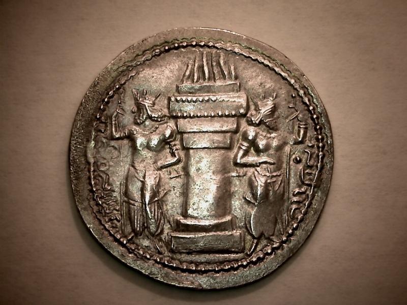 Drachme de Shapur Ier Revers12
