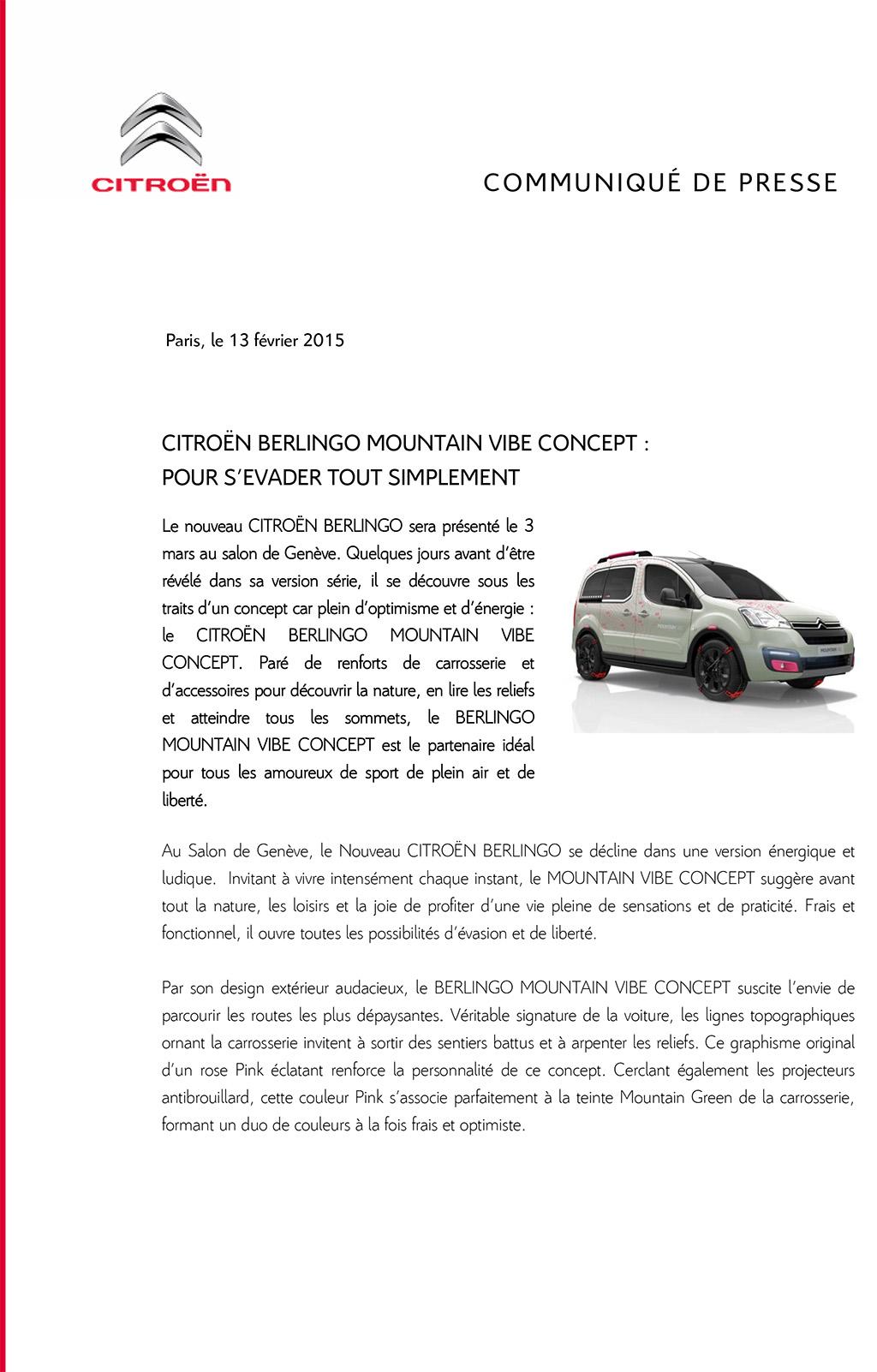 2015 - [GENEVE] Citroën Berlingo Mountain Vibe Cp_ber10