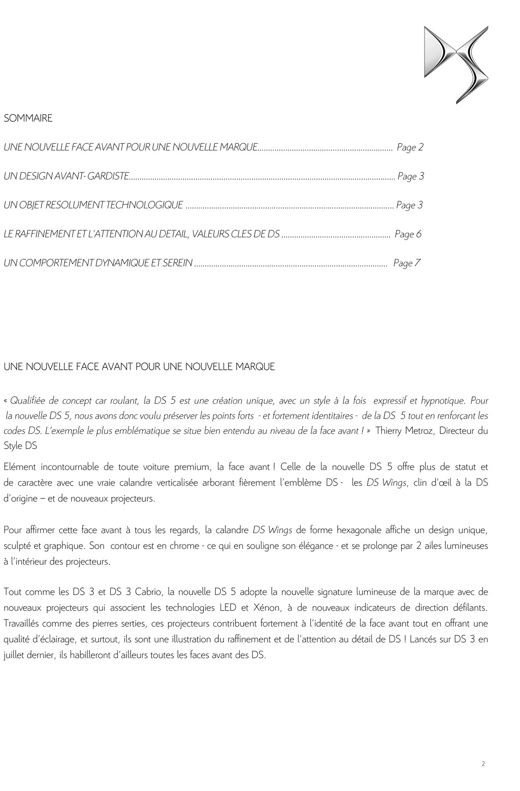 [SUJET OFFICIEL] DS 5 restylée (photos officielles p.16) - Page 10 Dp_ds_11
