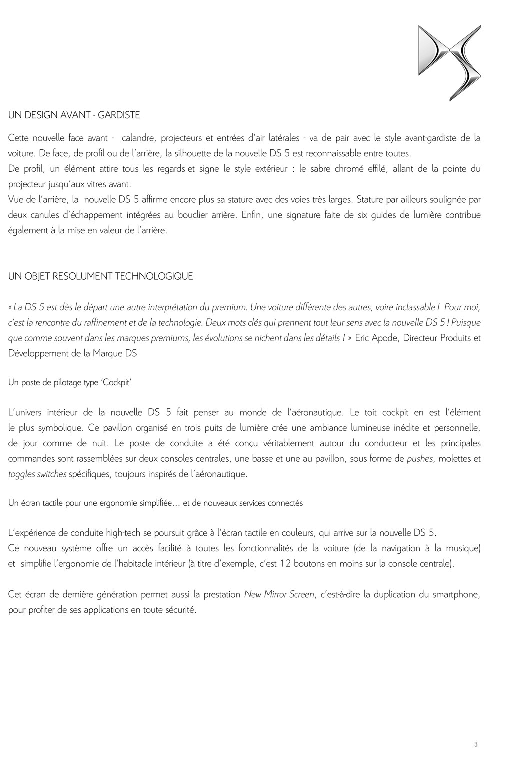 [SUJET OFFICIEL] DS 5 restylée (photos officielles p.16) - Page 10 Dp_ds_12