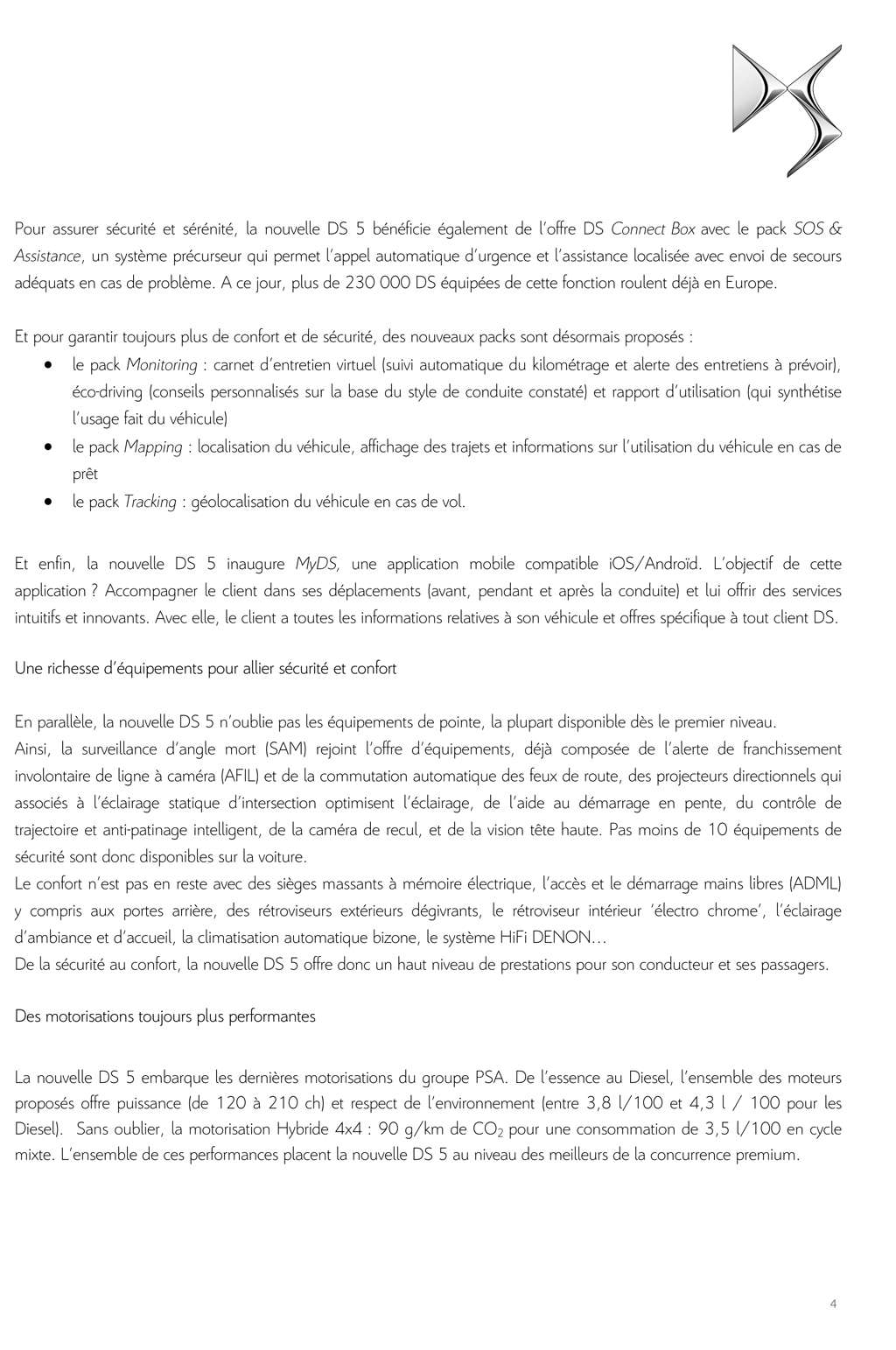 [SUJET OFFICIEL] DS 5 restylée (photos officielles p.16) - Page 10 Dp_ds_13