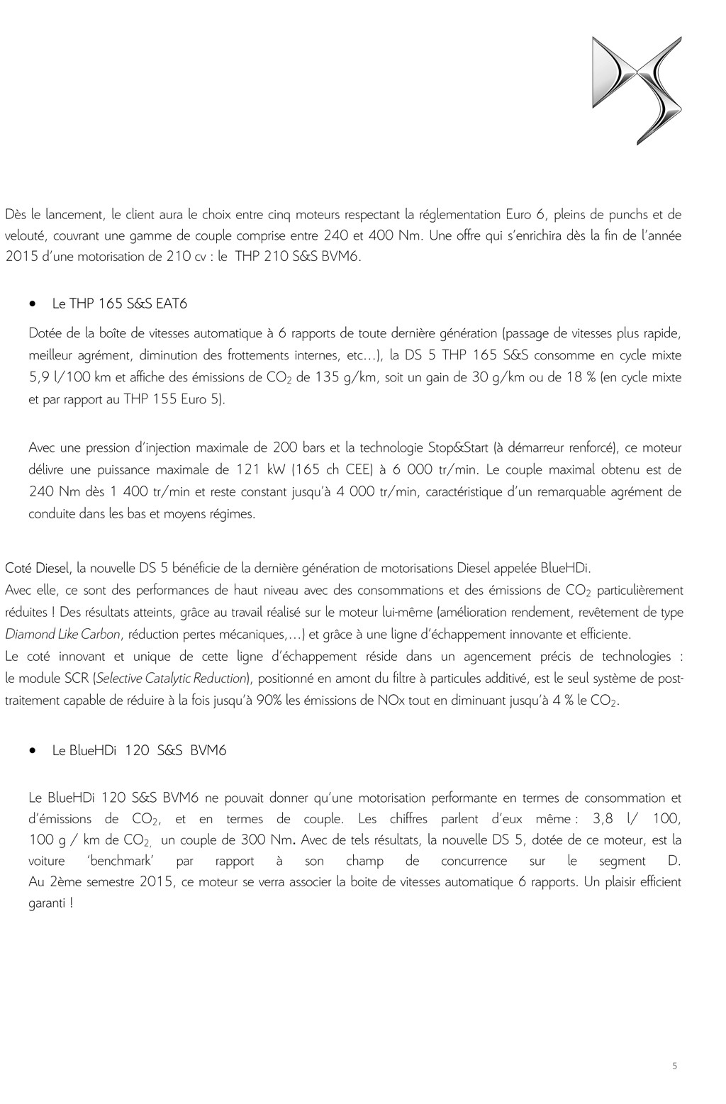 [SUJET OFFICIEL] DS 5 restylée (photos officielles p.16) - Page 10 Dp_ds_14