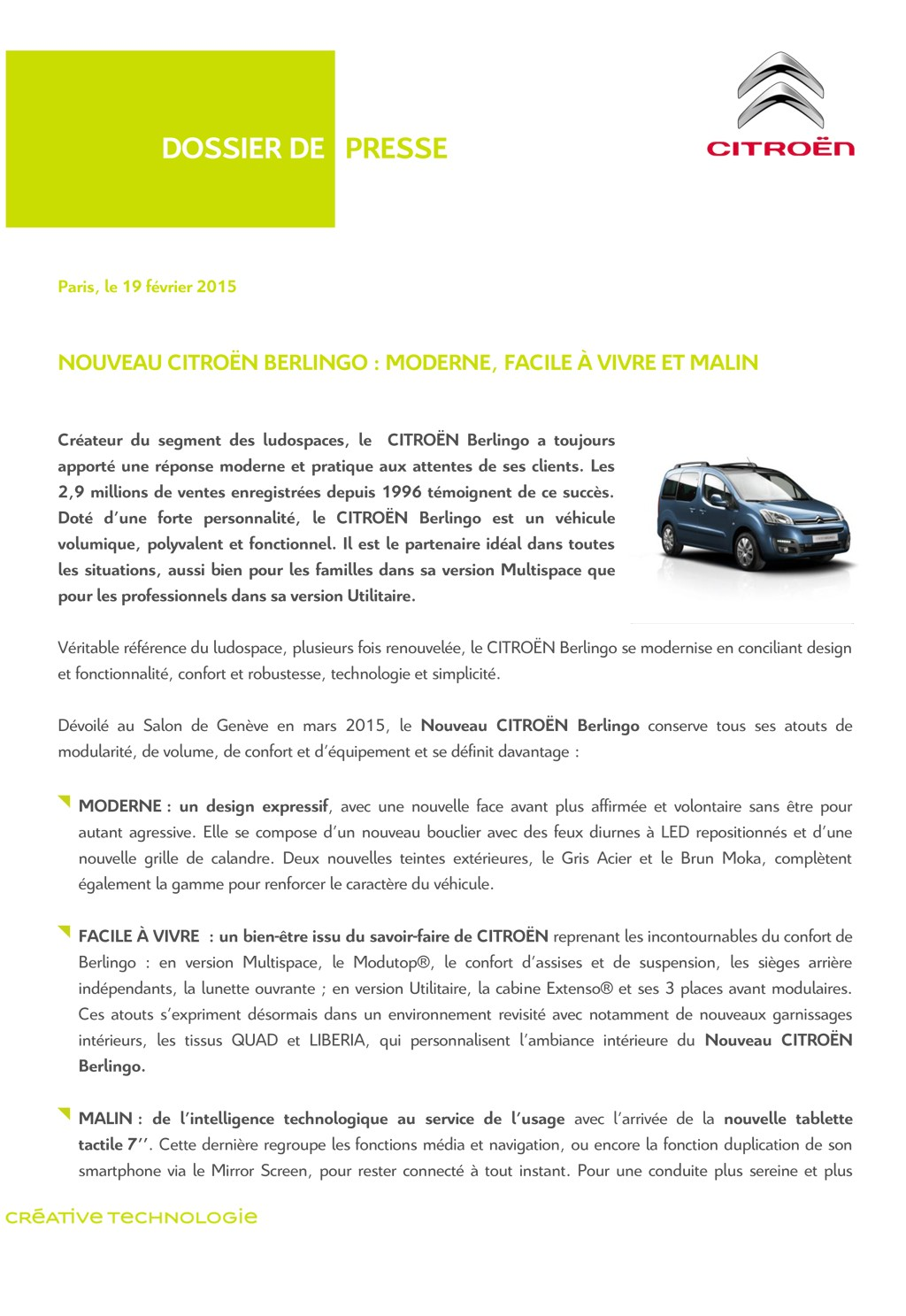 [SUJET OFFICIEL] Citroën Berlingo II phase III  - Page 2 Fr_dp_10
