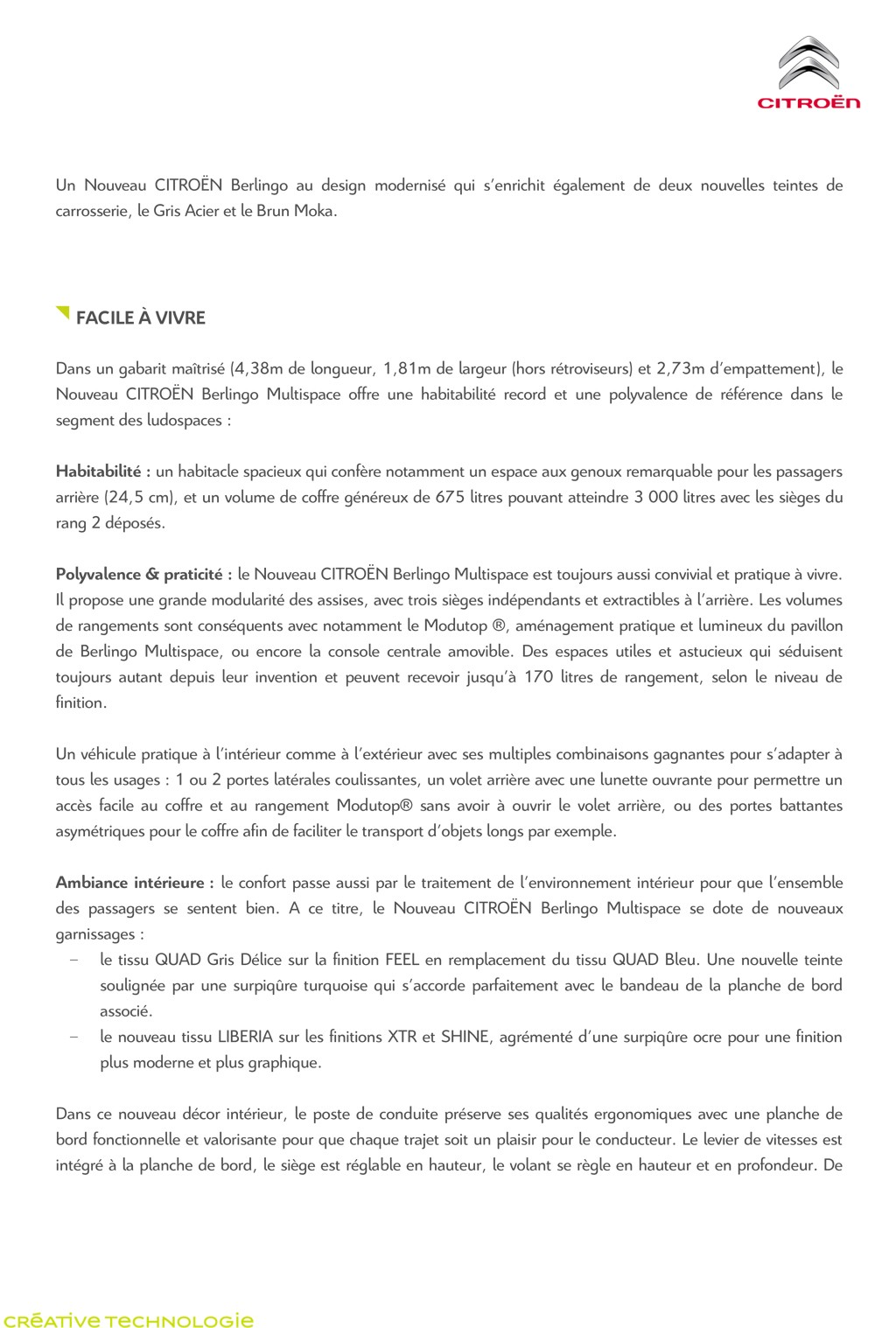 [SUJET OFFICIEL] Citroën Berlingo II phase III  - Page 2 Fr_dp_12