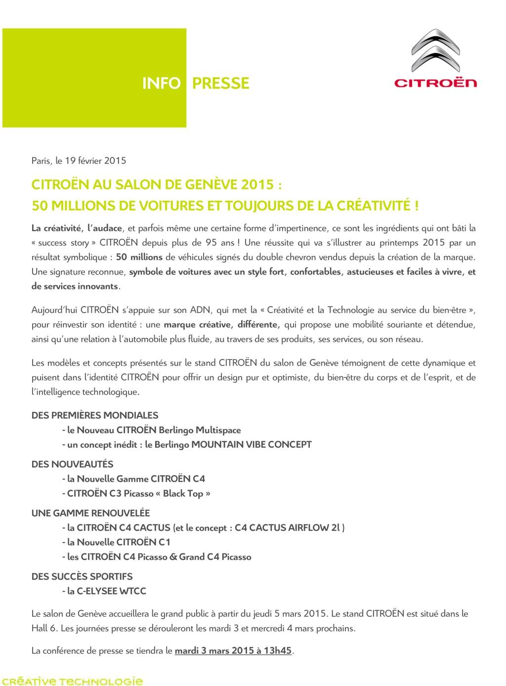 [SALON] Genève 2015 - Page 3 Info_p10